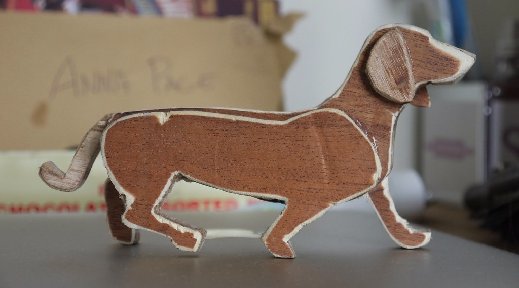 Klaus the Plywood Sausage Dog