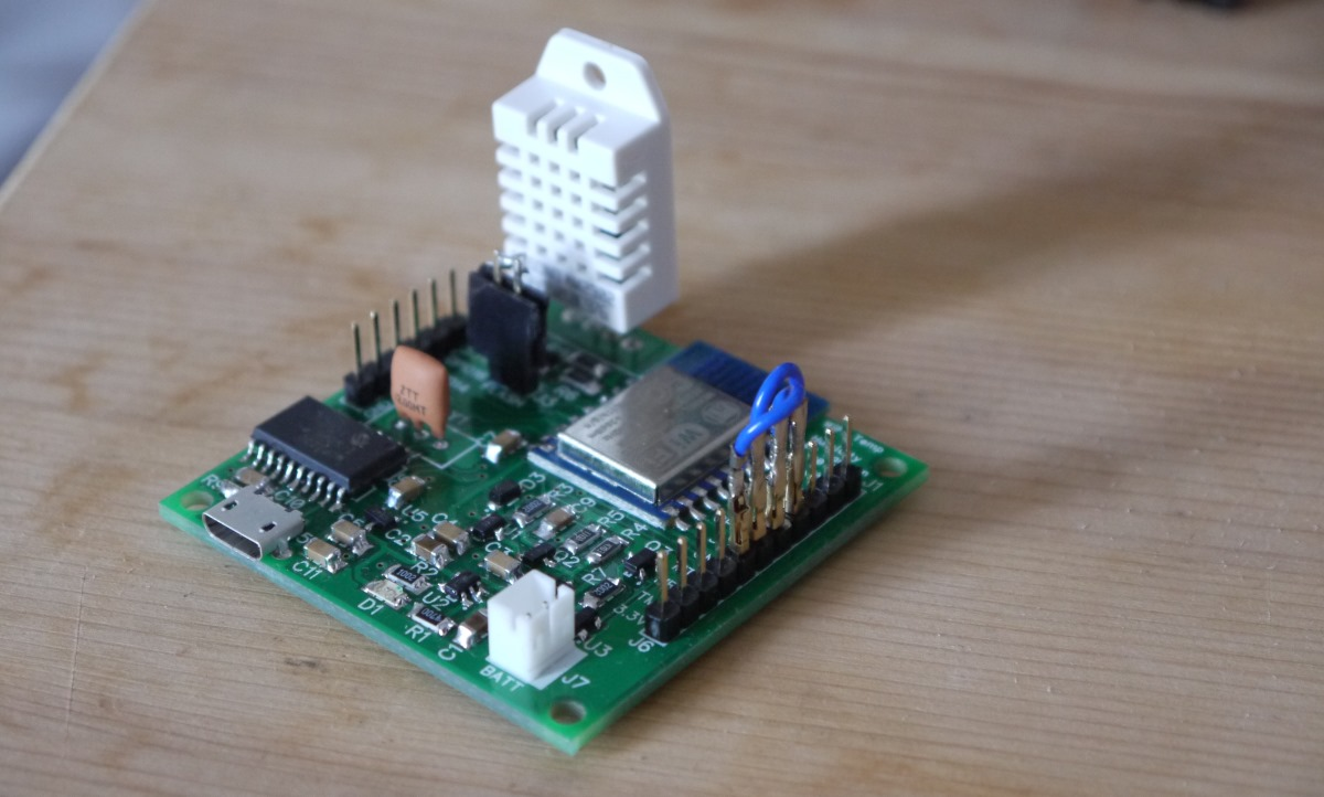WiFi Temperature Sensor Board